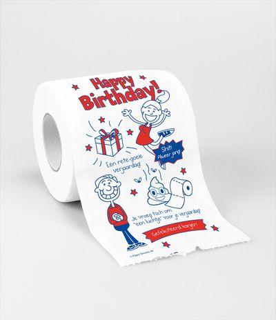 Wc papier happy birthday