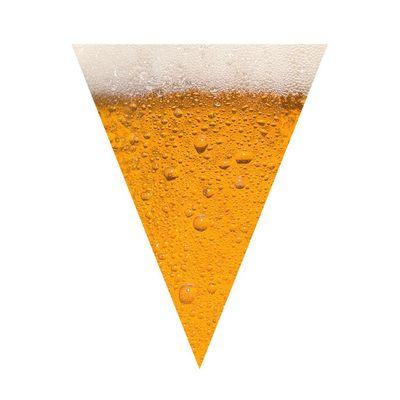 Foto van Vlaggenlijn bier (6m)