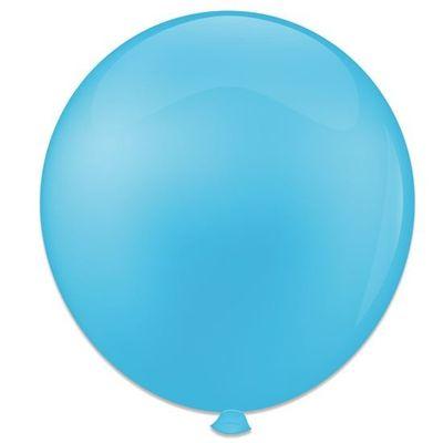 Topballon lichtblauw (91cm) 6st