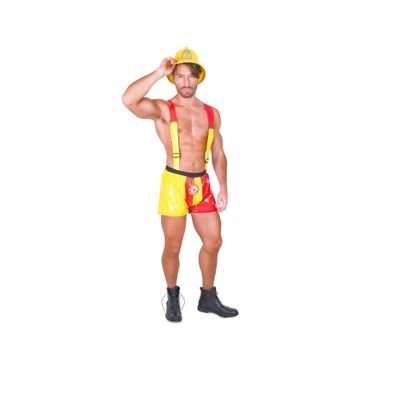 Foto van Sexy brandweer kostuum