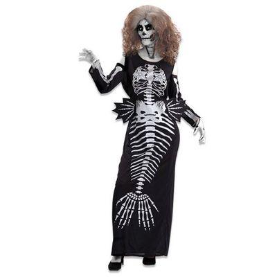 Halloween zeemeermin jurk