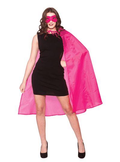 Cape superheld roze