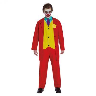 Foto van The Joker kostuum rood