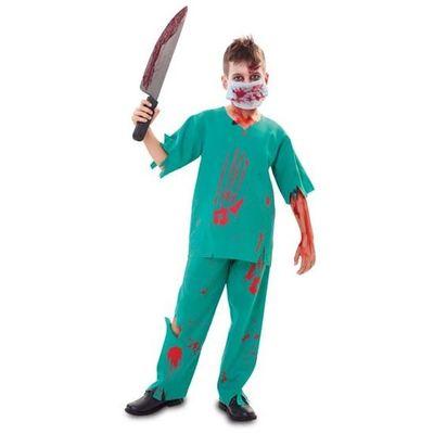 Foto van Zombie chirurg kostuum kind