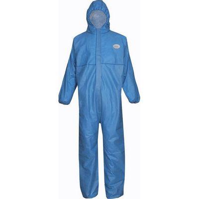 Blauwe wegwerp overall