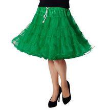 Onderrok tiroler jurk groen