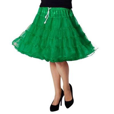 Petticoat rok groen