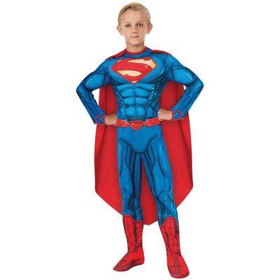 Foto van Gespierde Superman kostuum jongens