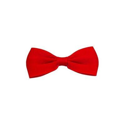 Vlinderdas 13,5 cm rood