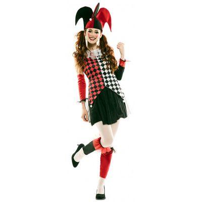 Harlekijn kostuum dames