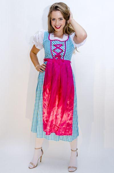 Oktoberfest jurk lang Annabel