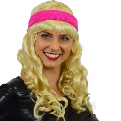Foto van Zweet hoofdband roze