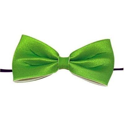 Foto van Vlinderdas 13,5 cm groen