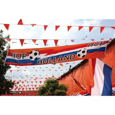 Straatbanner Hup Holland Hup