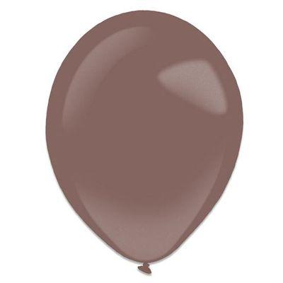 Ballonnen burgundy metallic (13cm) 100st