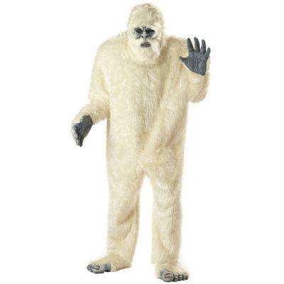 Foto van Verschrikkelijke sneeuwman Yeti kostuum