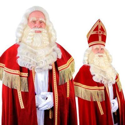 Sinterklaas baard TV-Sint buffel tule