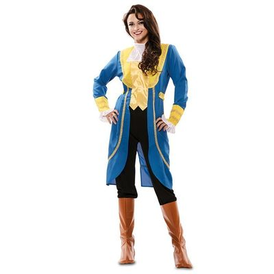 Het beest kostuum dames