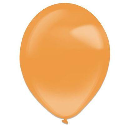 Ballonnen tangerine crystal (28cm) 50st