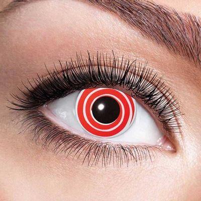 Kleurlenzen Red spiral – maandlenzen