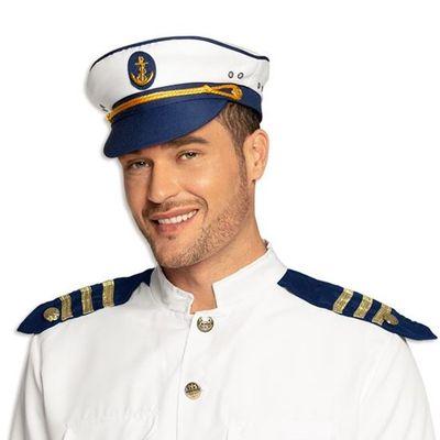 Kapiteinspet marineblauw