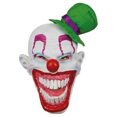Foto van Masker clown met hoed