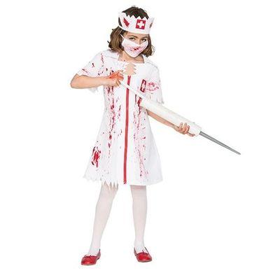 Zombie zuster kostuum kind