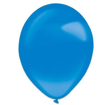 Ballonnen royal blue crystal (28cm) 50st