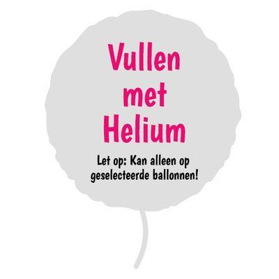 Foto van Helium ballonvulling (max. 43cm!)