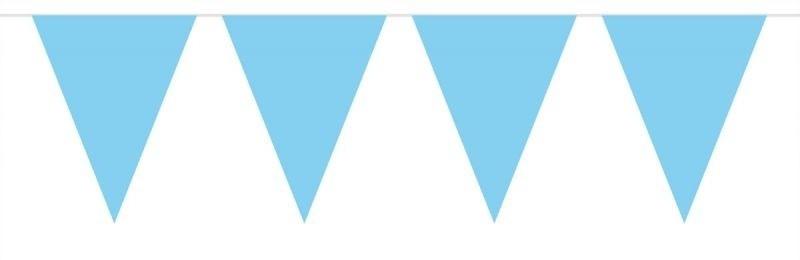 Afbeelding van Vlaggenlijn Effen Baby Blauw /10mtr