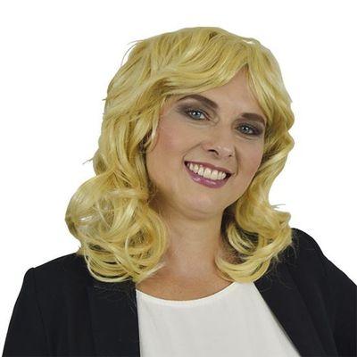 Linda pruik blond