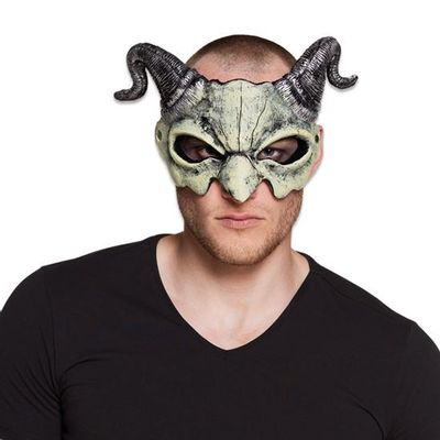 Masker duivel half