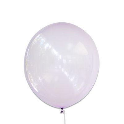 Ballonnen bubbel paars (30cm)