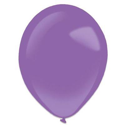 Ballonnen new purple (35cm) 50st