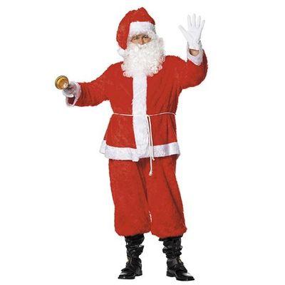Foto van Pluche Kerstman kostuum