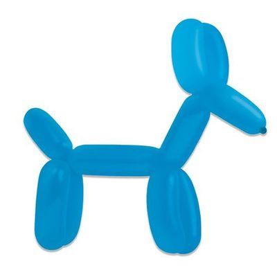 Modelleerballonnen royal blue (115cm)