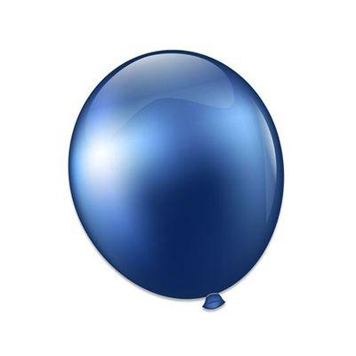 Ballonnen titanium blauw (28cm)