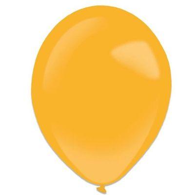Foto van Ballonnen orange peel (28cm) 50st