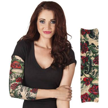Foto van Tattoo Sleeve rozen