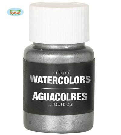 Body paint op waterbasis - zilver
