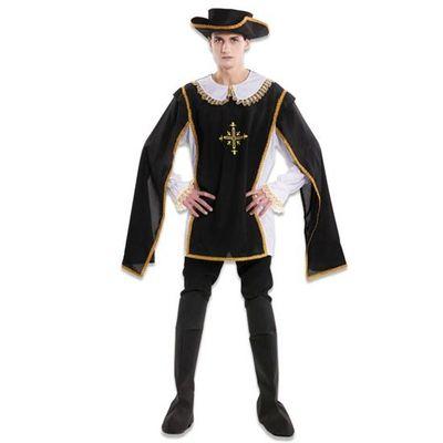 Foto van Musketier kostuum heren