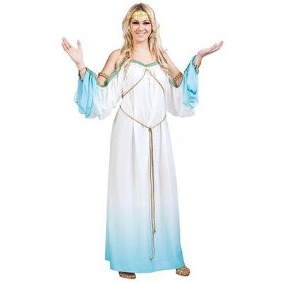 Foto van Romeinse jurk - Blauw