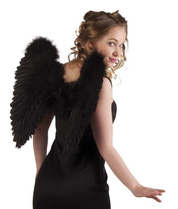 Foto van Engelen vleugels zwart