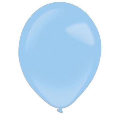 Ballonnen pastel blue (28cm) 50st