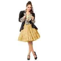 Licht gouden onderrok tiroler jurk