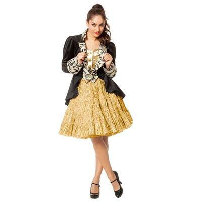 Petticoat rok goud