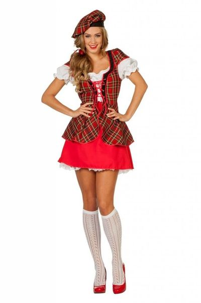 Schotse jurk - Luxe
