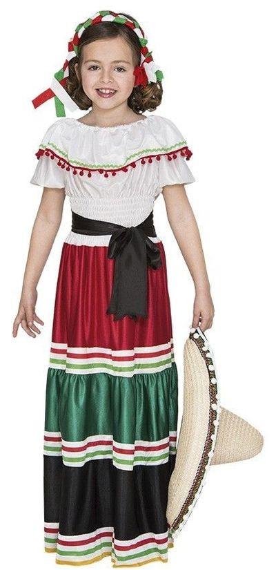 Mexicaanse jurk kind