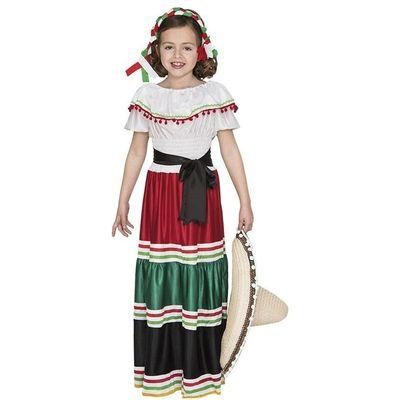 Foto van Mexicaanse jurk kind