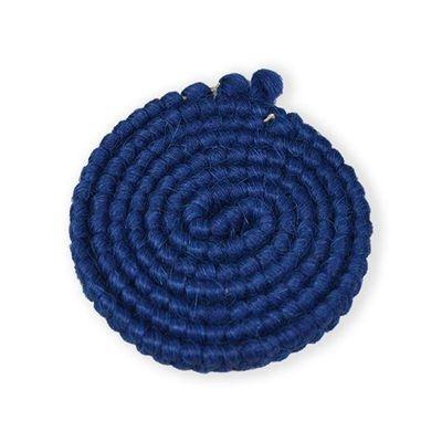 Wolcrêpe blauw